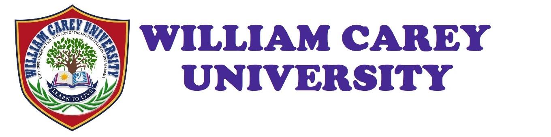 Wcu Academic Calendar 2022.William Carey University Shillong Meghalaya